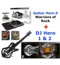 Комплект Guitar Hero 6 + DJ Hero 2 для Sony PS3
