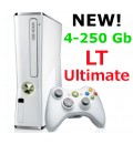 Xbox 360 4-500Gb прошитый LT Ultimate (White)